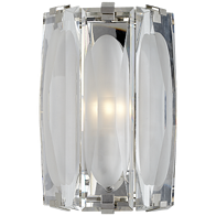 Visual-Comfort-Casktle-Peak-Large-Bath-Sconce-In-Polished-Nickel-With-Etched-Clear-Glass